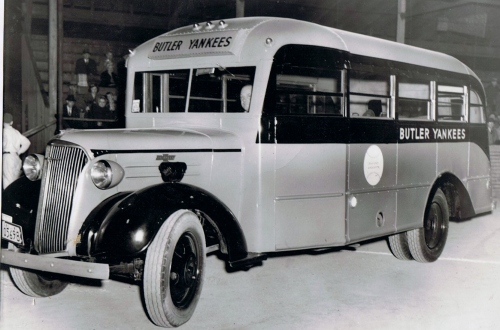 BUTLER YANKEES TRAVEL BUS