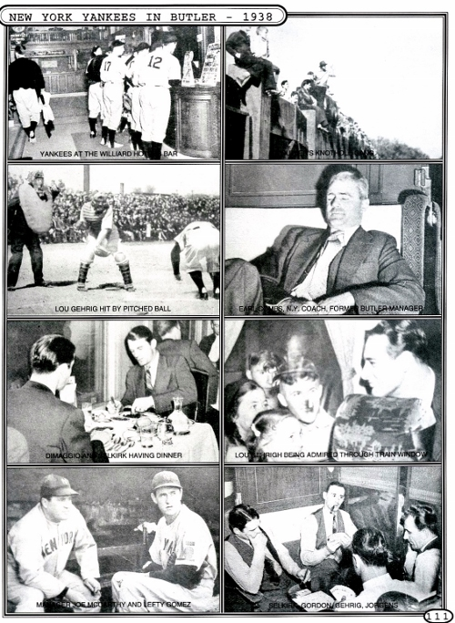 These pictures from Ralph Goldinger History of Butler book.